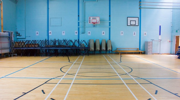 Gymnasium - Carshalton High School