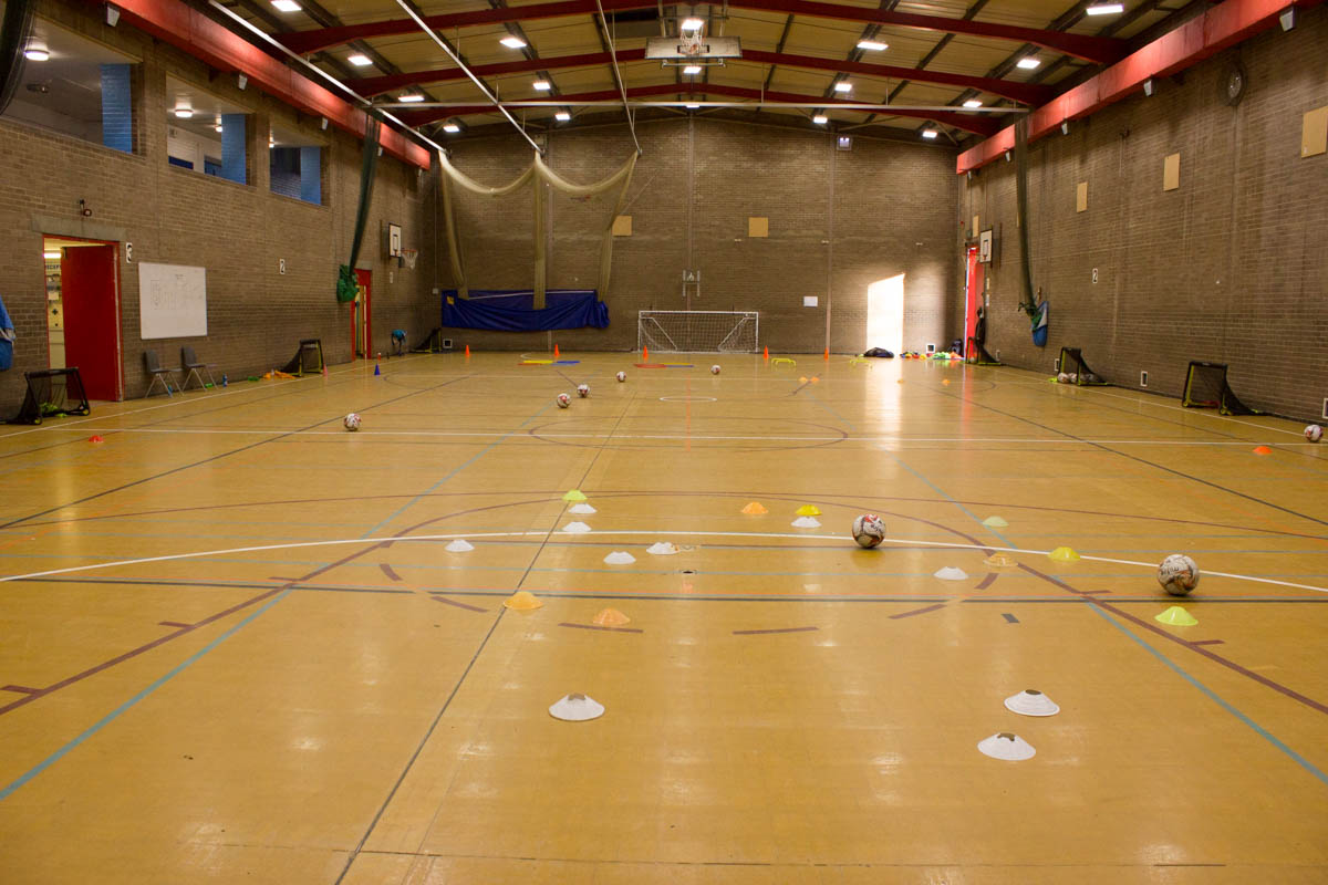 Sports hall for hire in Chiswick school