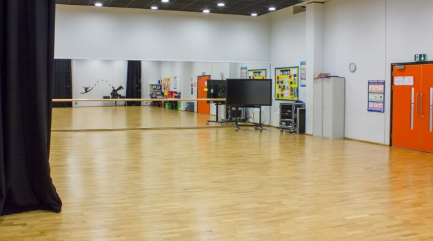 Dance Studio Chobham Academy