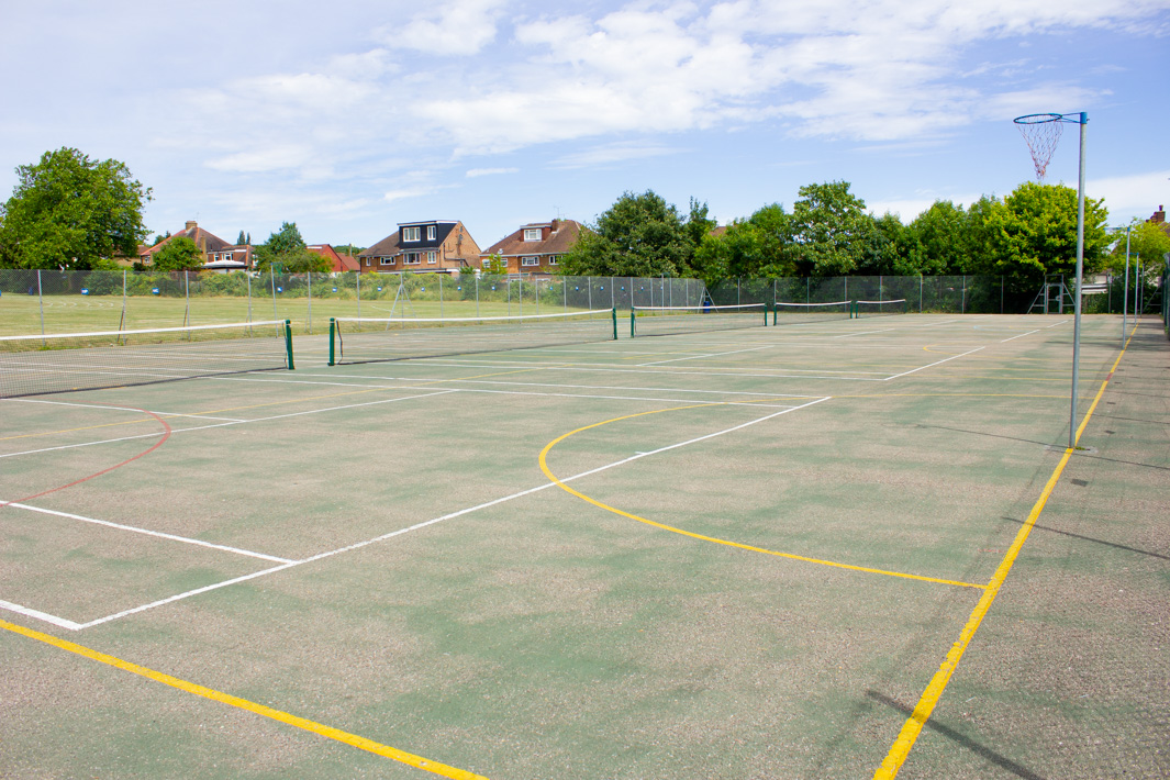 Netball and Tennis Courts