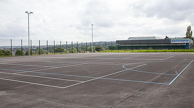 Floodlit Muga, Tennis & Netball Courts