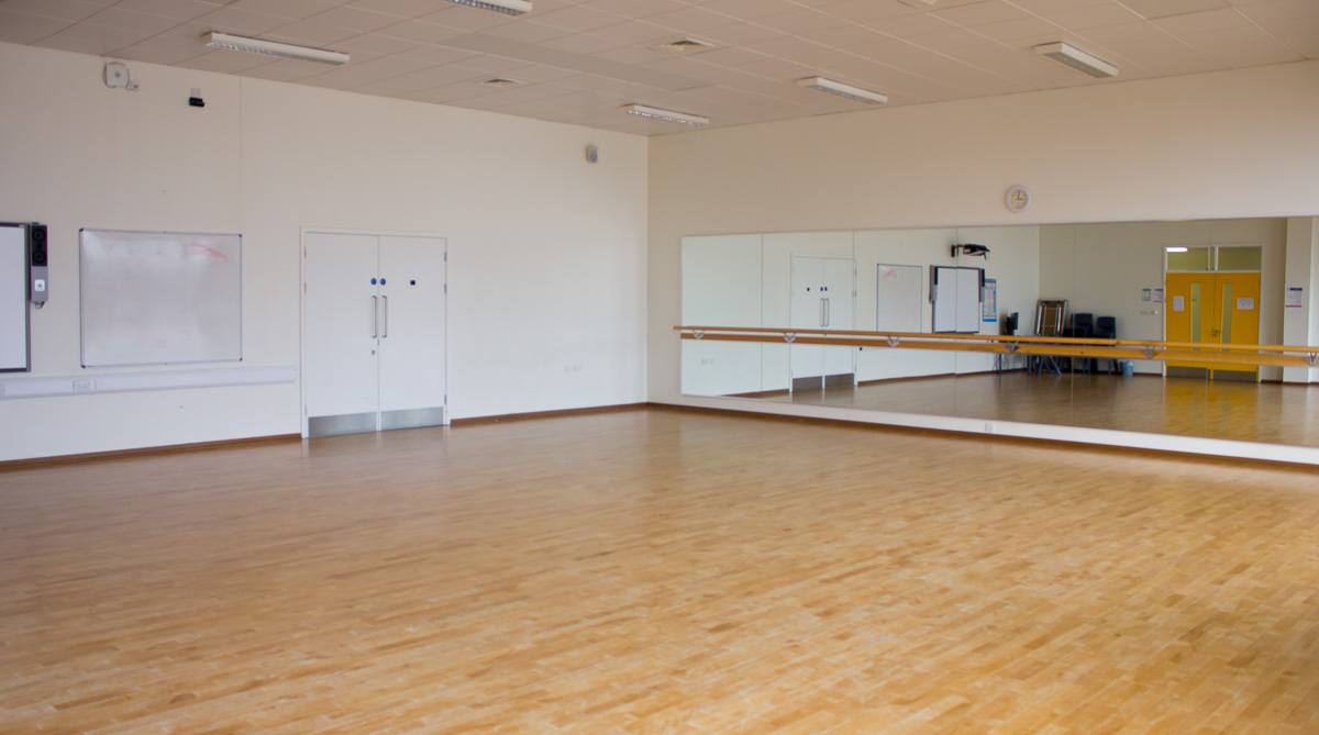 Dance Studio The Elmgreen School