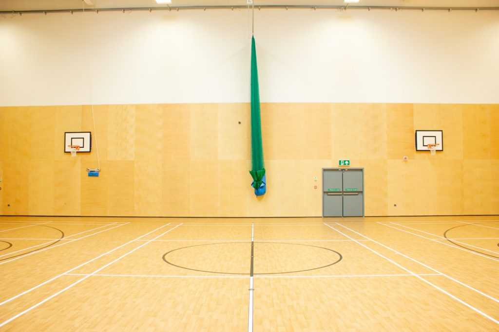 Sports Hall - George Mitchell School