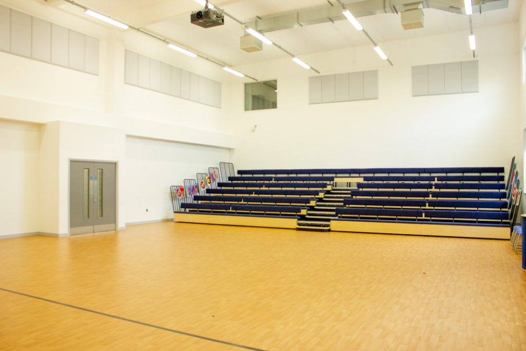 Main Hall - George Mitchell School