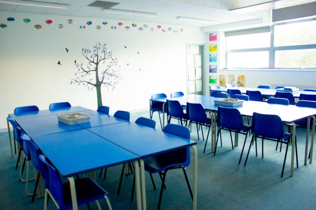 Classrooms - George Mitchell School