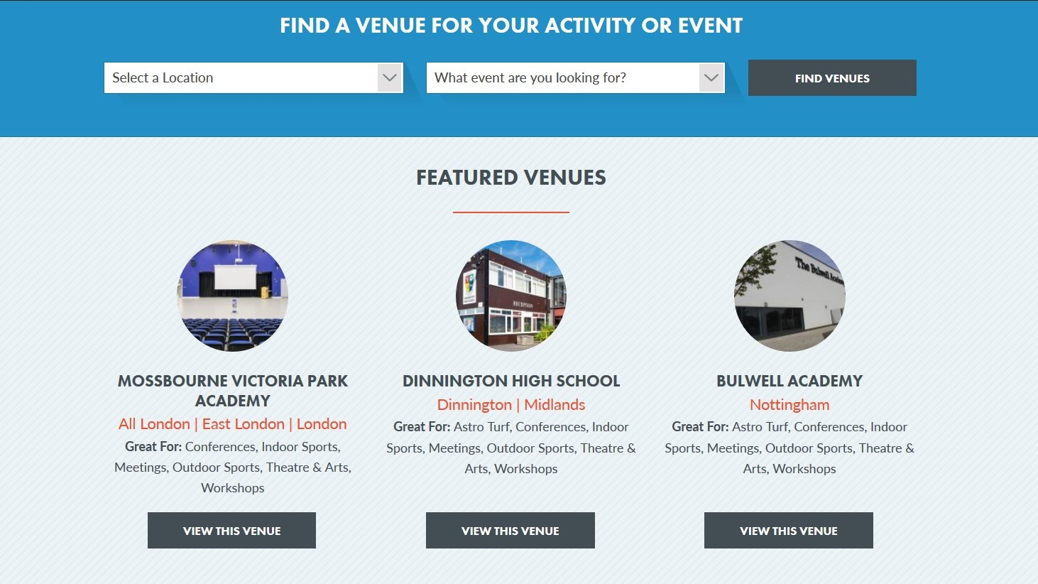 Tips On How To Find The Right Venue For Your Event Schools Plus At