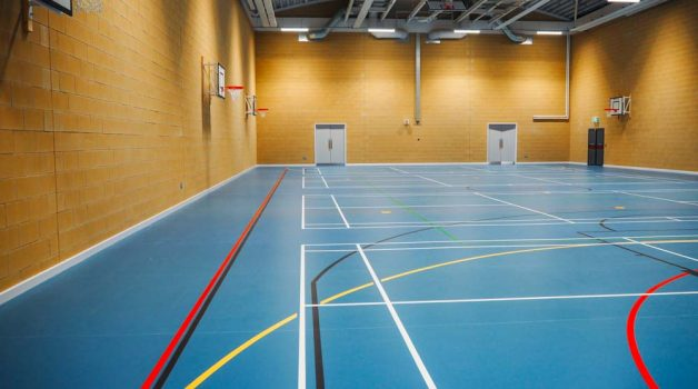 Sports Hall - Latimer Arts College - Schools Plus