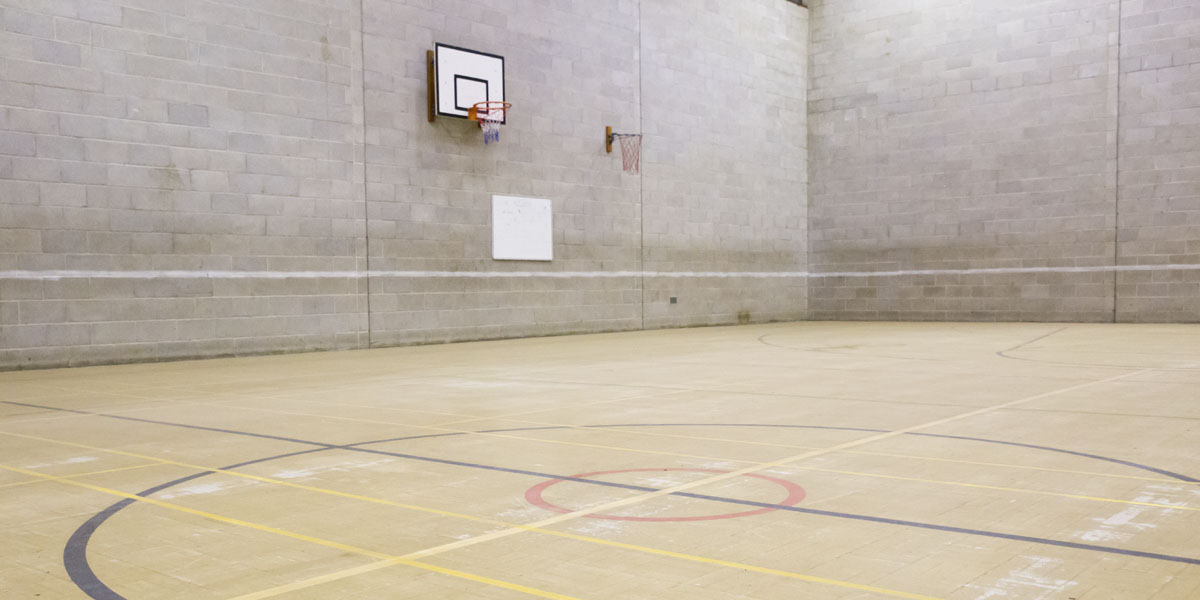 Sports hall for hire