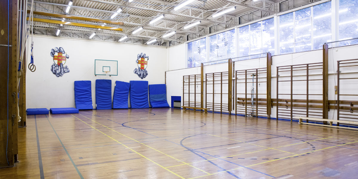 Gymnasium for hire