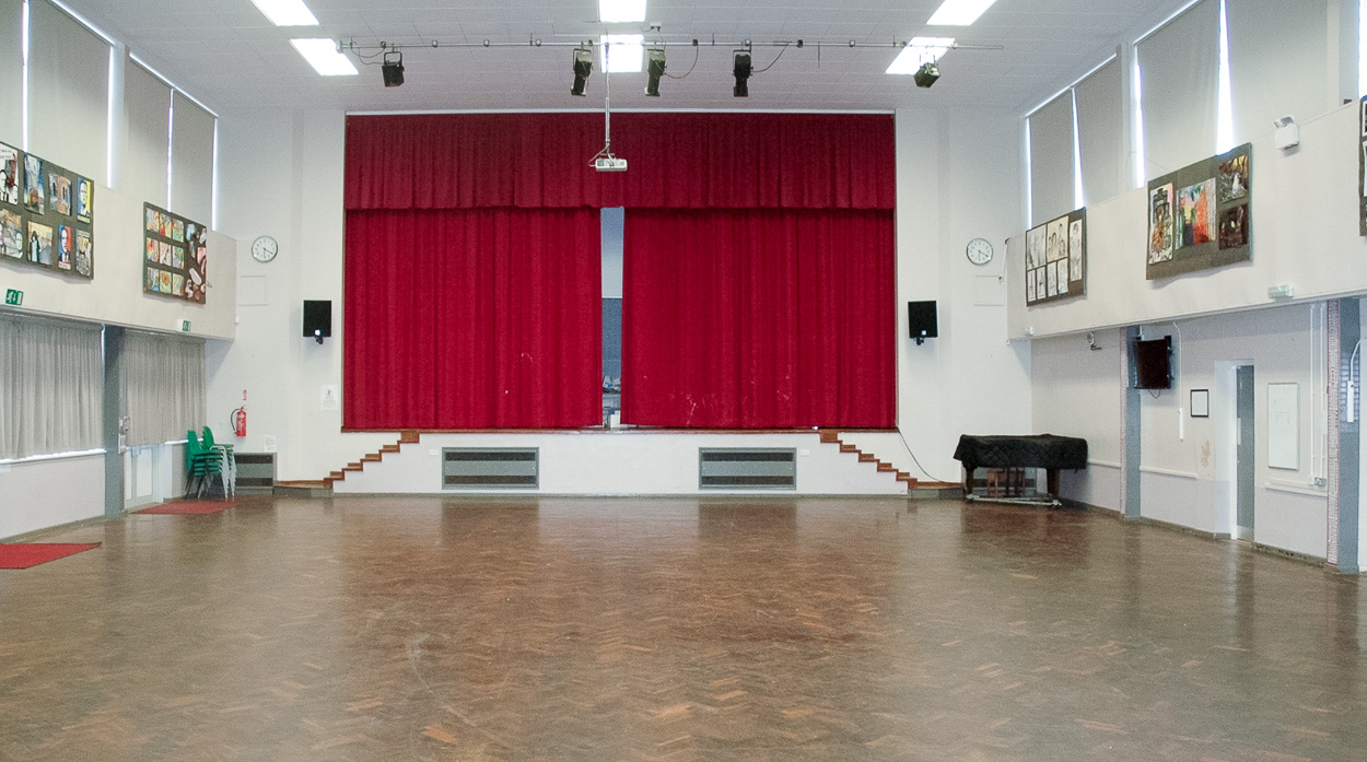 Hall with Stage to Hire in Moulton, Northampton