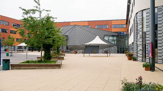 Outdoor Stage and Quad - Pimlico Academy