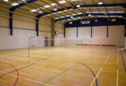 Sports Hall - Queens Park Community School