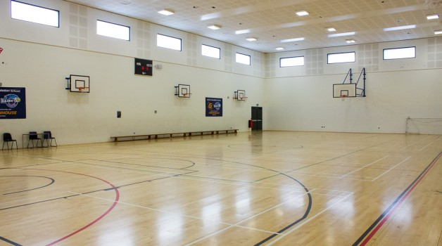Raines Foundation Upper School Sports Hall
