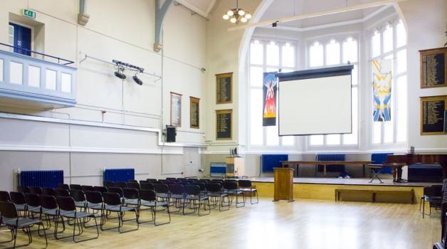 Raines Foundation Upper School Main Hall