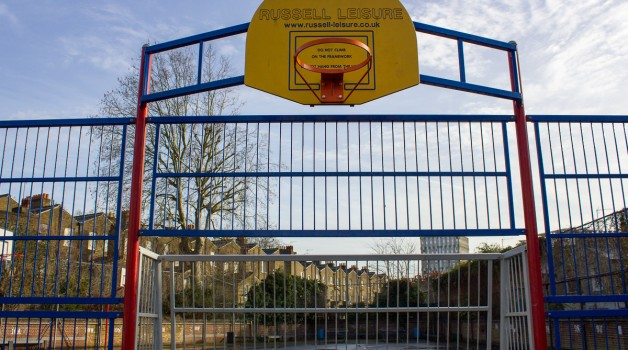 Raines Foundation Upper School Sports Court