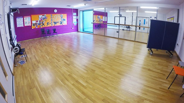 Dance studio hire schools plus at school 21 for Mirror zumba