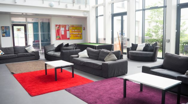Harefield Academy- Lord Adonis House Communal Area -Schools-Plus