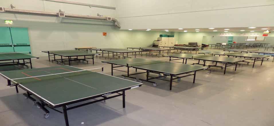 Table Tennis Hall