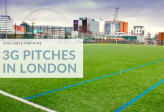3G Football Pitches Available For Hire In London