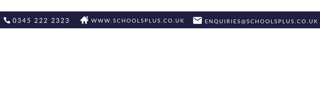 Schools Plus contact banner