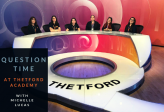 BBC Question Time at Thetford Academy