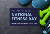 Looking ahead to National Fitness Day 2019