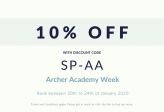 Archer Academy Week -Exclusive Discount Offer!