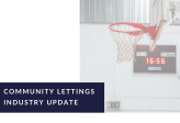 Community Lettings Industry Update